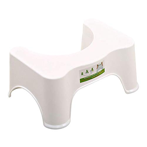 #N/A/a Sgabello Accovacciato in Plastica Antiscivolo per Bagno WC per Bambini Poggiapiedi Strumento Ausiliario
