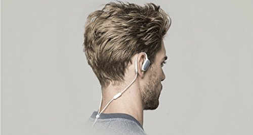 Xiaomi Wireless Sports Auriculares Bluetooth In-Ear Auriculares estéreo Earbuds con Mic y Sweatproof para iPhone Smartphones Android (Blanco)