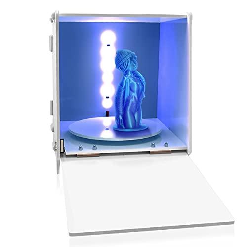 DERUC Geeetech UV Resin Curing Light Box for SLA/DLP/LCD 3D Resin Printer