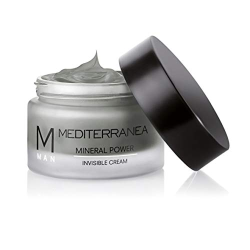 Mediterranea Man - Invisible Cream - Crema Viso per Uomo Effetto Invisibile - Trattamento Rassodante e Opacizzante - Idrata la Pelle e la Ringiovanisce - Azione Ristrutturante Antietà - 50 ml