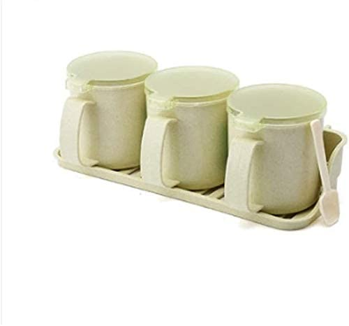 Seasoning Cheap bargain National products Containers with Lids Spice Set Jar Box Kitch