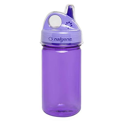 Nalgene, Purple with Cover, Grip N Gulp, Viola con Coperchio Unisex-Adulto, 32 OZ