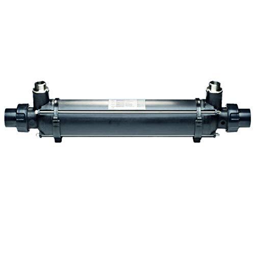 well2wellness® Dapra Plastic Line scambiatore di calore con tubo corrugato in acciaio inox, 91 kW