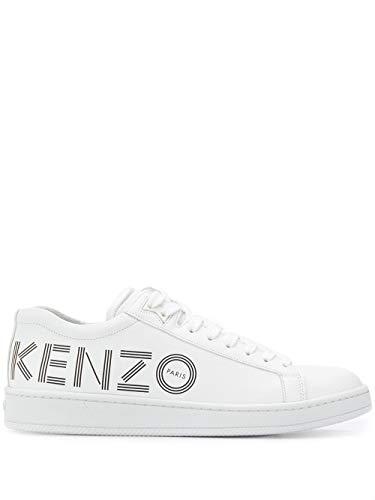 Kenzo Luxury Fashion Herren F965SN129L7101 Weiss Leder Sneakers   Frühling Sommer 20