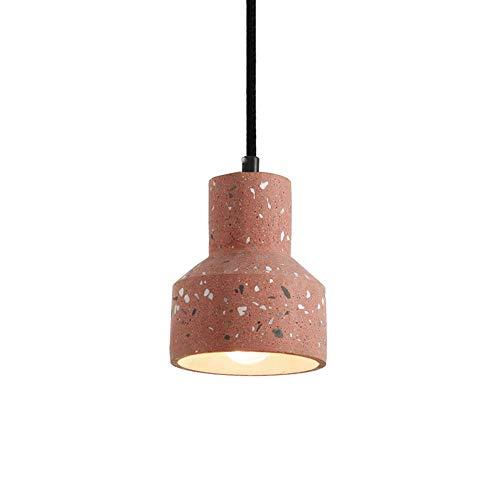 Lámpara Colgante Simple Industrial de Cemento, E27, Trabajo Hecho a Mano, lámpara de araña de hormigón Creativa, combinación de Metal, lámpara Colgante, luz Colgante, Vertical, 5 Luces