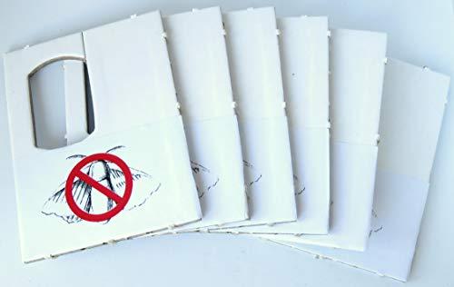 UKarbid Schlupfwespen gegen Lebensmittelmotten 6 Karten