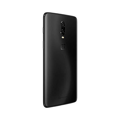 OnePlus 6T Smartphone 8 GB RAM, 256 GB Memoria, Nero (Midnight Black)