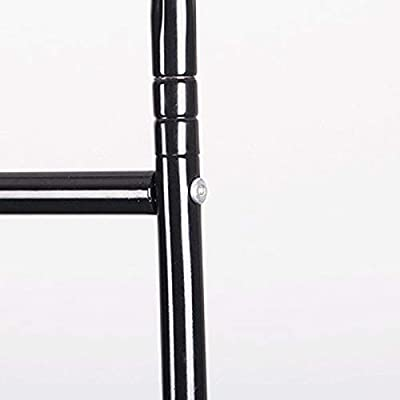 Perchero Burro Industrial Negro de Metal de 80x38x180 cm ...