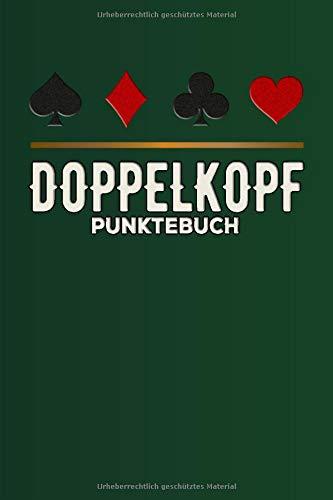 Doppelkopf Punktebuch: Doppelkopf Spielkarten Buch I Kartenspiel I Zählzettel für Doppelkopfspiel I Doppelkopfkarten I Spieleabende I Spieleblock I DIN A5 I 120 Seiten