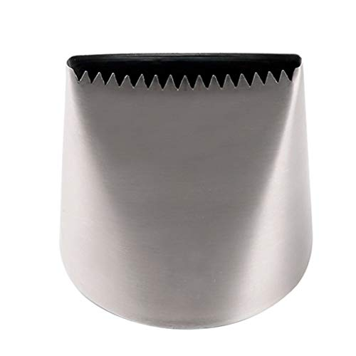 Boquilla de pastelería de acero inoxidable, extra grande, p