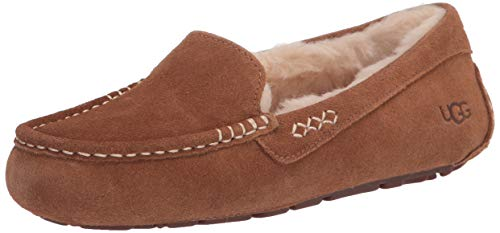 UGG Female Ansley Slipper, Chestnut, 10 (UK)
