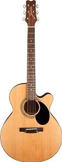 Jasmine S34C NEX Acoustic Guitar - with FREE Tune Pro clip on Tuner