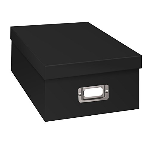 Pioneer Photo Albums Photo Storage Box, 1, Black