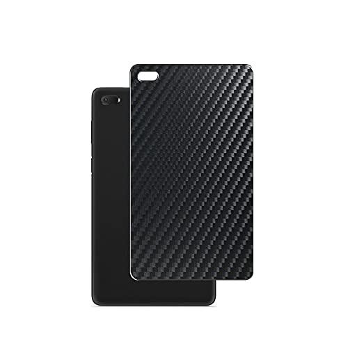 VacFun 2 Piezas Protector de pantalla Posterior, compatible con Lenovo Tab E7 7', Película de Trasera de Fibra de carbono negra Skin Piel