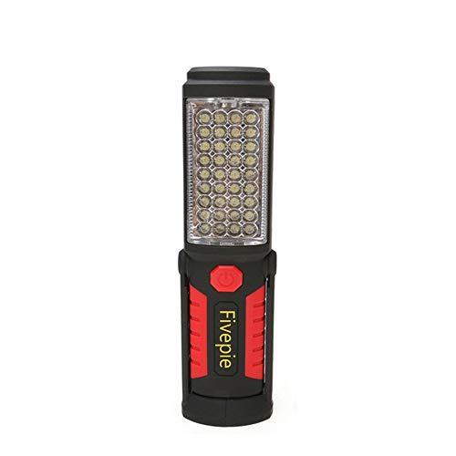 Work Light Rechargeable LED Flashlight Inspection Light Camping Light Emergency Light, 36+5 LED...