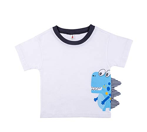 Froerley Camiseta de Manga Corta para niños Blusa Tops Bebé Verano 2-6 años
