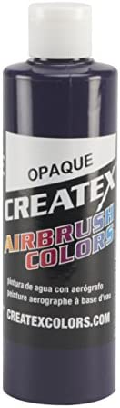 Createx Colors 5212-08 Paint for Airbrush, 8 oz, Opaque White