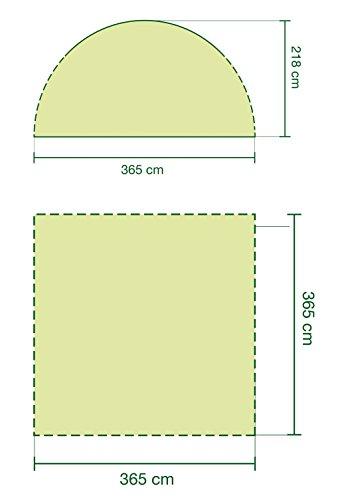 Coleman Event Shelter, grau, 360 x 360 cm, 2000009569 - 4