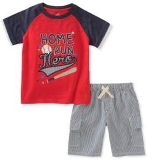 Kids Headquarters 2-Pc. Graphic-Print Cotton T-Shirt & Shorts Set, Toddler Boys