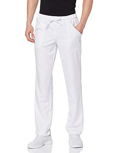 Pantalone con elastico boheme bianco Isacco L