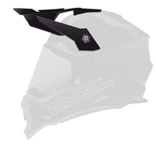 O\'NEAL   Motorrad-Helm-Ersatzteile   Street Adventure Motocross   Ersatzschirm Sierra Flat   Spare Visor Sierra Flat   Schwarz   One Size