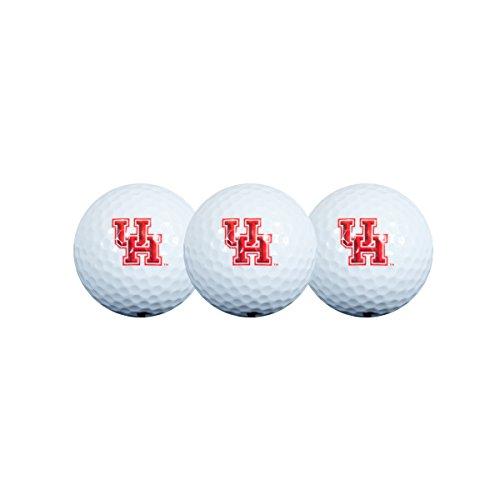 Collegiate Golfbälle, 3 Stück, Houston Cougars Golfball, 3er-Pack, 30GB