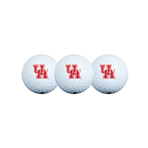 Collegiate Golfbälle, 3 Stück, Houston Cougars Golfball, 3er-Pack, 30GB