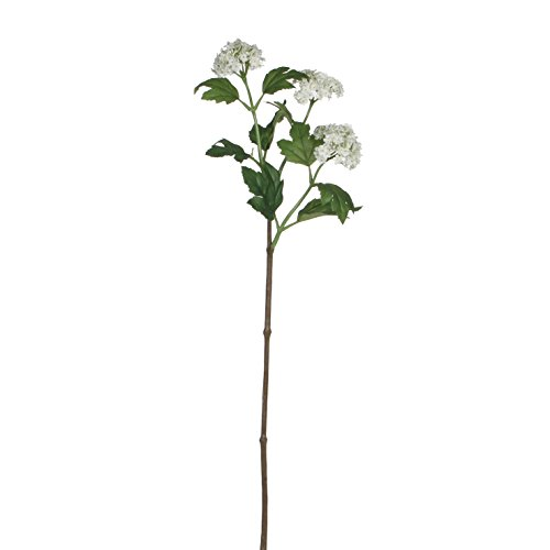 Mica Decorations Viburnum Kunstblume - weiss h84cm