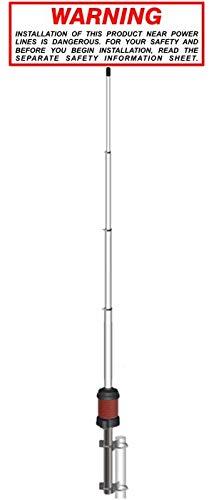 Sirio Gain-Master (5/8 onda) – Antena base CB (25 – 30 MHZ) (no requiere afinación)