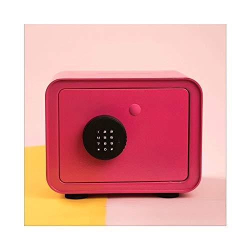 Hucha/caja de dinero De los niños adultos contraseña Alcancía, metales electrónicos hucha, Electrónica / contraseña de desbloqueo dos formas de abrir, Key desbloqueable Banco de dinero ( Color : Red )