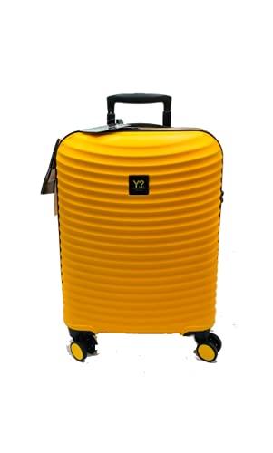 Trolley Medio Medium WAV rigido 4 ruote policarbonato ynot Y not? giallo