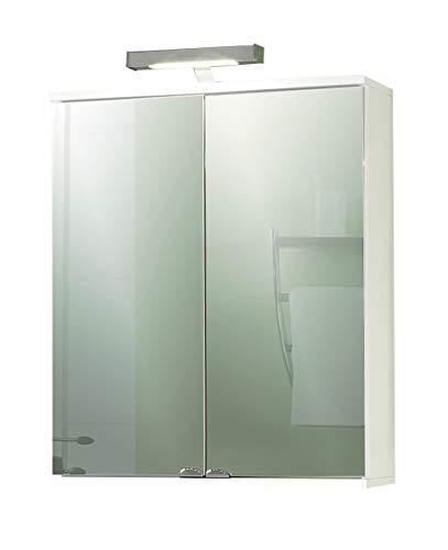 Schildmeyer Spiegelschrank 120045 Isola, 60x16x77 cm, weiß