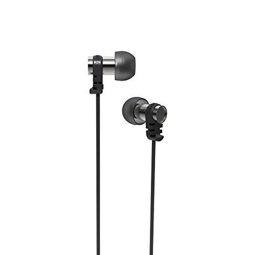 Brainwavz Omega In-Ear Noise Isolating Earphones with Remote & Mic Stereo for iOS & Android Devices (Black)