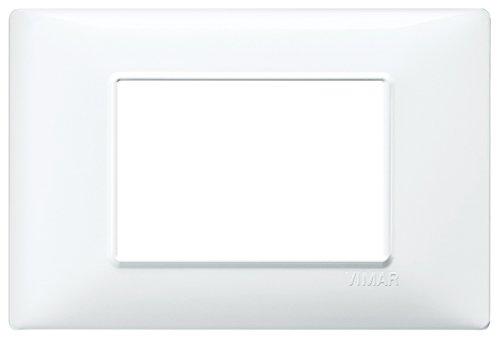 Vimar Placca 3 m, Bianco