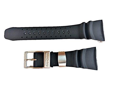 59-S50342 ORIGINAL GENUINE Citizen Promaster Diver Black Polyurethane Watch Band For Men's Dive Watch BJ8050-08E, BJ8051-05E Same as Part # 59-S50411