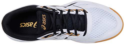 ASICS Unisex Upcourt 4 Sneaker, Black Black White, Large UK