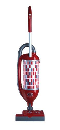 Sebo Felix 1 Premium Rosso Bürststaubsauger, Kunststoff, Rot/Grau