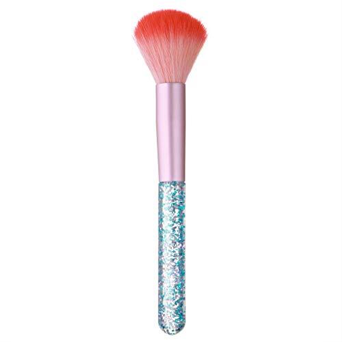 Feifish Gros Pinceau Kit Pinceaux Maquillage Pinceau Blush Set de pinceaux de maquillage Fond de teint poudre fard à paupières poudre contour des yeux