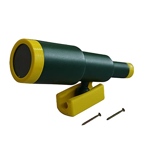 LHZMD Telescope for Playhouse Monocular Plastic Telescope Role Playing Toys Pretend Toy Swing Accessories Rotatableeasy to Install