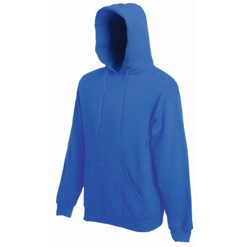 Fruit of the Loom - Sweat-shirt - - Uni - À capuche - Manches longues Homme - Bleu - Bleu marine - Medium