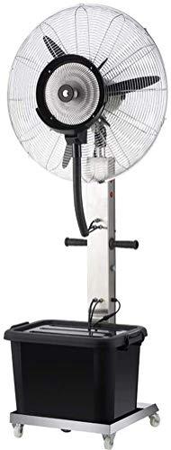 YYhkeby Fan de Soporte de Pedestal para el Edificio de fábrica Mobile Industrial Misting Spray Spray Factory Fábrica de enfriamiento Fan de la fanática eléctrica de Alta Potencia Jialele