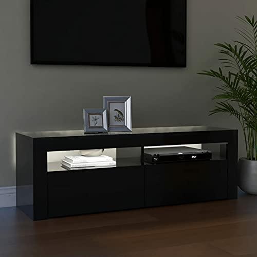 Tendia Mueble TV Salon Mesa para TV Mueble Television con Luces LED...