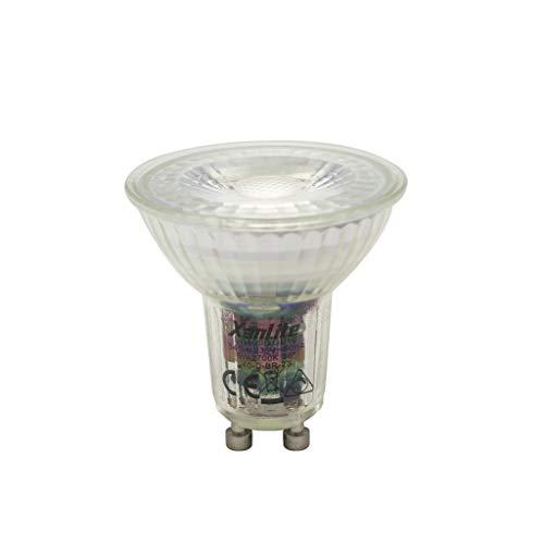 Xanlite - Ampoule LED Spot Dimmable - Culot GU10 - 6 -5W cons. (50W eq.) - Lumière Blanc Chaud