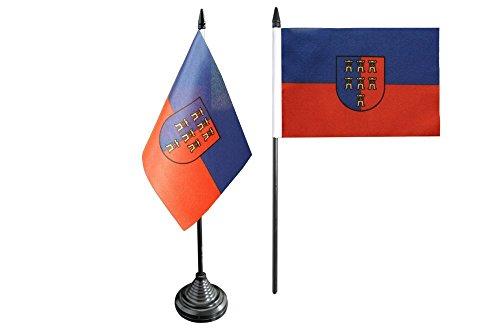 Flaggenfritze® Tischflagge Siebenbürger Sachsen - 10 x 15 cm