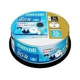 maxell 録画用ブルーレイ BR25VFWPB.25SP ひろびろ超美白レーベル