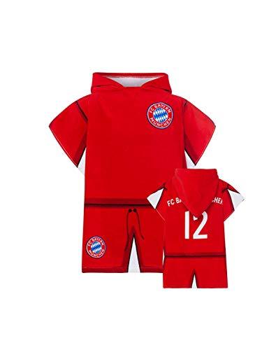FC Bayern München Baby Kinder-Poncho Handtuch