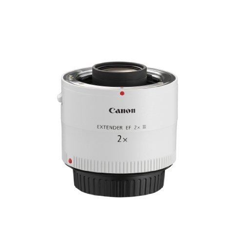 Canon Objektiv Extender EF 2x III (Verlängerung Objektiv-Brennweite, optimierte Autofokusleistung), hellgrau