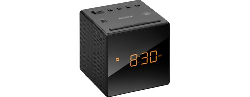 SONY ICF-C1B ALARM CLOCK WITH AM/FM RADIO BLACK