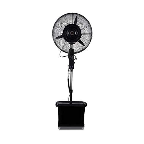 Potente Ventilador, Puede Girar 90 Grados, Agregar Agua Pulverizada, Enfriamiento De Fábrica, Ajuste De Negro, 3 Engranajes Funcionan Continuamente Durante 10 Horas