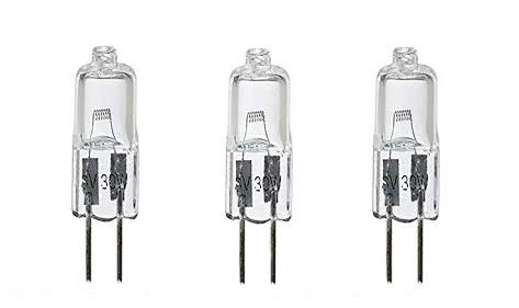 3 Pack - Lab Series LS 6V 30W JC 780 lm Halogen Microscope Bulb for Advanced Research, Cytology and Serology | Made in Japan.